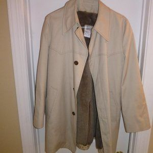 Vintage London Fog Maincoats Polar Plush Lining